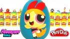 PowerPuff Girls Blossom Sürpriz Yumurta Oyun Hamuru - Gumball Oyuncakları Adventure Time  Şirinler