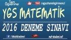 2016 Ygs Matematik Deneme Sınavı