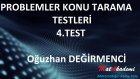 Problemler Konu Tarama Tesleri / 4.Test