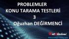 Problemler Konu Tarama Testleri / 3.test