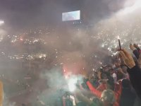 River Plate Taraftarının Muazzam Tribün Şovu