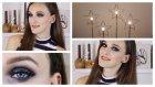 Simli ve Siyah Dumanlı Yeni Yıl Makyajı | Glitter Christmas Makeup *2