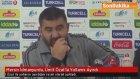 Spor Toto Süper Lig'den  Mersin İdmanyurdu, Ümit Özat'la Yollarını Ayırdı