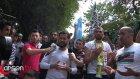 Çin Konsolosluğu Önünde Uygur Türkleri İçin Yürek Yakan Dua  - Ahsen Tv