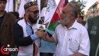 Muhabir soru sorduğuna pişman eden Mücahid Amca