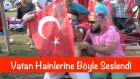 Türk bayrağını indirmeye kimsenin gücü yetmez - Ahsen Tv