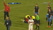 Dinamo Bükreş Futbolcusu Patrick Ekeng Maçta Öldü