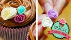Şeker Hamurundan Kolay Gül Yapımı / Ayşenur Altan Yemek Tarifleri - Kek Evi