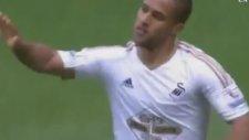 Wayne Routledge'nin West Ham United'a Attığı Gol