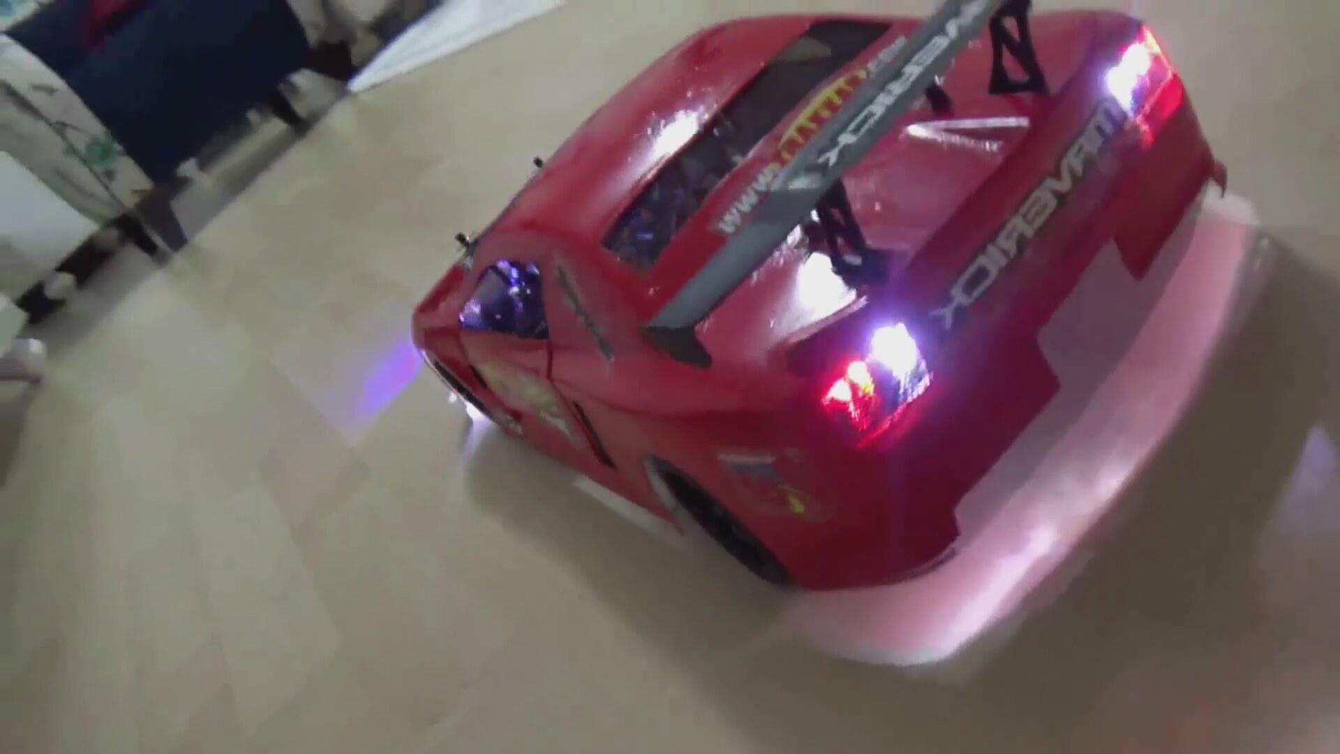 Rc Drift Car Modifiyerc Kep Boyama Teker Değişme Led Işık Döşeme