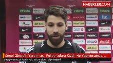 Beşiktaş Teknik Direktörü  Şenol Güneş'in Yardımcısı, Futbolculara Kızdı: Ne Yapıyorsunuz, Sakin Olu