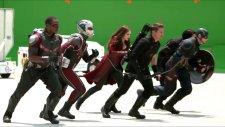Captain America: Civil War Özel Efektler Olmadan Nasıl Gözüküyor?