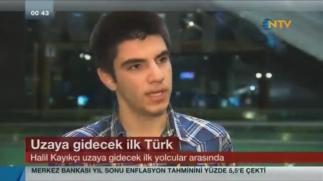 Uzaya Gidecek Ilk Türk Halil Kayıkçı Izlesenecom