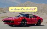 Dünyanın İlk Elektrikli Ferrari'si Ferrari 308 GTE