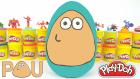 Oyun Hamurundan Dev POU Sürpriz Yumurtası - Minyonlar Karlar Ülkesi Batman Paw Patrol Kinder Sürpriz