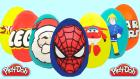 Oyun Hamurundan Dev Sürpriz Yumurtalar Spiderman İtfaiyeci Sam Pou Harika Kanatlar Lego Hot Wheels