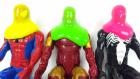 Slime Altındaki Bu Süper Kahraman Kim? Spiderman Venom Iron Man Slime Altında