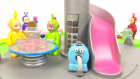 Teletabiler Tele Tostu Yapıyor Oyuncaklarla Eğlenceli Çizgi Film Tinki Vinki Dipsi Lala ve Po