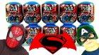 10 Justice League Sürpriz Yumurta Açma Mini Figz Batman Vs.  Superman Challenge