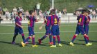 Barça'lı gençler gole doyurdu