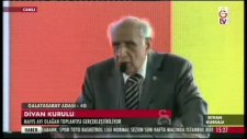 Divan Kurulu'nda Galatasaraylı Futbolculara Eleştiri!