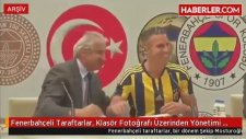 Fenerbahçeli Taraftarlar, Klasör Fotoğrafı Üzerinden Yönetimi Eleştiriyor