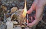 Sakız Jelatini ve Kalem Pil ile Ateş Yakmak