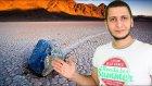 Hareket Eden Garip Taşların Sırrı Çözüldü  -Sahte Arap