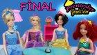 Prensesler Yemeği Final | Pamuk Prenses Külkedisi Sindirella Rapunzel Deniz Kızı Ariel | EvcilikTV