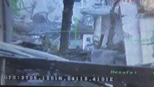 Teröristin Vurulma Anı Kameraya Yansıdı