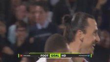 Zlatan Ibrahimovic 300. lig golünü attı!