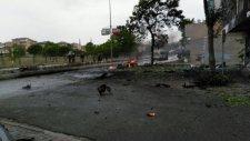 Sancaktepe'de Askeri Kışla Karşısında Patlama