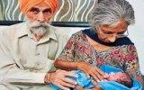 72 Yaşında Anne Olan Kadın  Hindistan