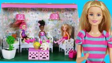 Barbi Oyuncak Bebekleri İçin Yaz Bahçesi Yapımı   Nasıl Yapılır   EvcilikTV