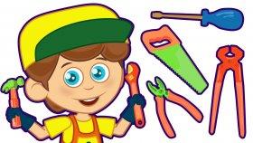 İşte Bir Tamirci | Çocuk Şarkıları 2016 | Bebek Şarkıları | Sevimli Dostlar | Adisebaba Tv