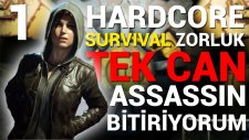 Tek Can - Survival Zorluk - Fallout 4 - #1 (Assassin Build)