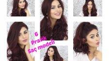 2 Dakikada Dalgalı Saçlar Ve Favorim Pratik 5 Farklı Saç Modeli - Cilt Bakımı