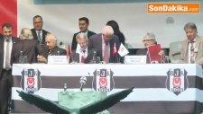 Beşiktaş Kulübünün Mali Kongresi Başladı - Fikret Orman