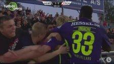 Kristensen'den kariyerinin ilk golü