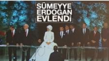 Cumhurbaşkanı Erdoğan'ın Kızı Sümeyye Erdoğan, Selçuk Bayraktar'la Evlendi