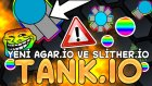 Yeni Slither.io / Agar.io Oyunu - Tank.io