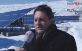 Erzurum'da, Rusya'ya İnat Güneş Enerji Sistemi Kurmak