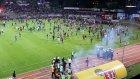 Eskişehirspor taraftarları stadı yaktı