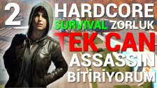 TEK CAN - Survival Zorluk - Fallout 4 - #2 (Assassin Build)