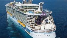 Dünyanın En Büyük Yolcu Gemisi Harmony of the Seas ilk Seferine Çıktı