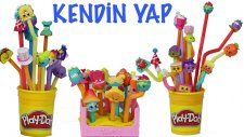 Play Doh Oyun Hamuru Shopkins Cicibici Kutusu Nasıl Yapılır | EvcilikTV
