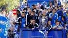 Leicester City şampiyonluğu taraftarıyla kutladı