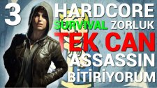 TEK CAN - Survival Zorluk - Fallout 4 - #3 (Assassin Build)