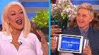 Başarılı Oyuncu Christina Aguilera Taklit Yeteneği ile Göz Doldurdu!