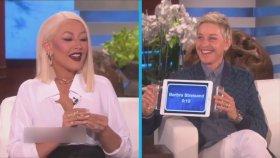 Christina Aguilera'nın Mükemmel Taklit Yeteneği